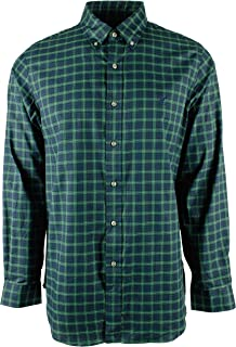 Men's Holiday Plaid Oxford Long Sleeve