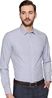 Arrow Men's Striped Slim fit Formal Shirt