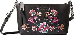 Calvin Klein - Hayden Floral Printed Saffiano Key Item Crossbody