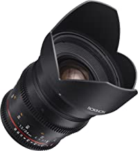 Rokinon Cine DS DS24M-MFT 24mm T1.5 ED AS IF UMC Full Frame Cine Wide Angle Lens for Olympus and Panasonic Micro Four Thirds