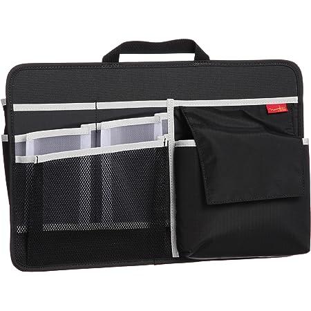 [ノーマディック] バックインバック バッグインバッグ 小物収納 A4 ヨコ ブラック
