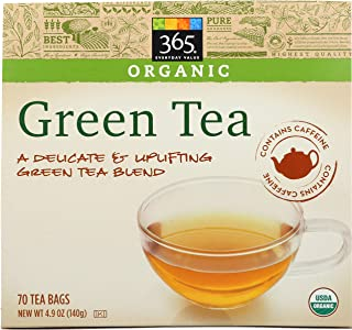 Best whole foods 365 organic green tea bags Reviews