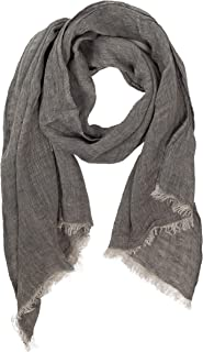 Lusie's Linen Scarf - 100% Linen - For Women & Men - Imported From Europe