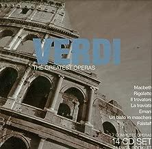 Verdi: The Greatest Operas - Macbeth / Rigoletto / Il Trovatore / La Traviata / Aida / Otello / Falstaff
