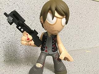 "THE WALKING DEAD (Series 3) Mystery Mini's - ""Blood-Splatter"" Daryl Figure - (RARE) 1/24 Packs"