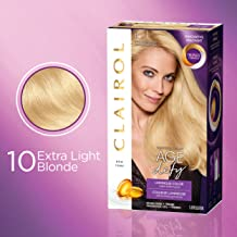 Clairol Age Defy Permanent Hair Color, 10 Extra Light Blonde, 1 Count