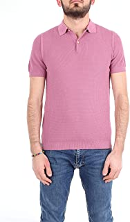 HERITAGE Luxury Fashion Mens 0156P04LILLA Purple Polo Shirt | Season Outlet
