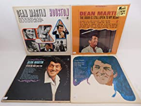 Dean Martin Lot of 4 Vinyl Record Albums Houston and more