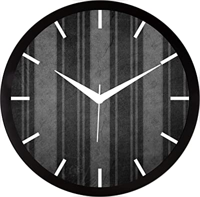 RAG28 11.75 Inches Wall Clock for Home/Kitchen/Living Room/Bedroom (9147)