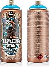 Montana Cans MXB-LEOKT Montana Black 400ml Color, Bava Blue Oktober Spray Paint,