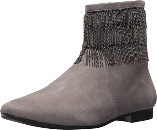Bernardo Wohommes Fiona Fashion démarrage, Light gris Suede, 8.5M M US