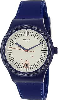 Swatch Men's Originals SUTN401 Blue Silicone Automatic Watch