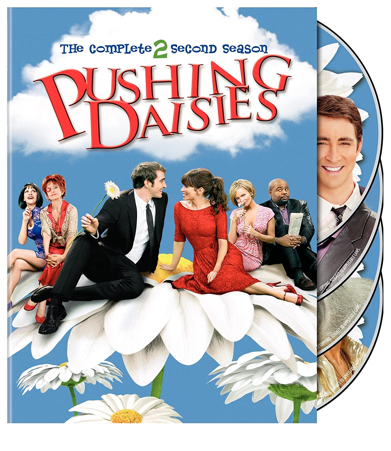 Pushing Daisies:S2 Max 56% OFF DVD Max 63% OFF