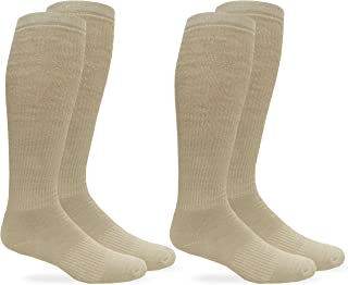 Jefferies Socks Unisex Merino Wool Combat Boot Socks 2 Pair Pack