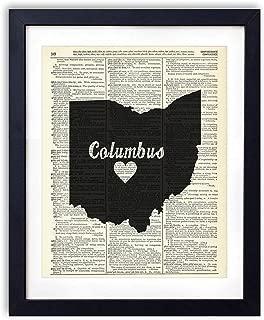 Best vintage columbus ohio map Reviews
