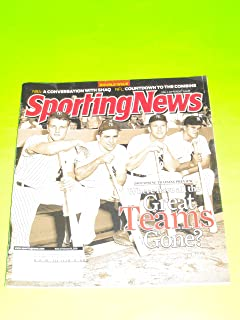 Roger Maris, Yogi Berra, Mickey Mantle, Bill Skowron, Yankees (Sporting News Magazine - February 16, 2009)