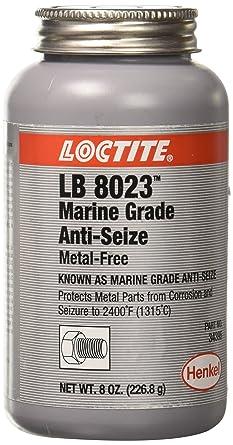 Loctite 299175 Paste Anti-Seize Lubricant, -20 to 2400 degrees F Temperature Range, 8 oz Can: image