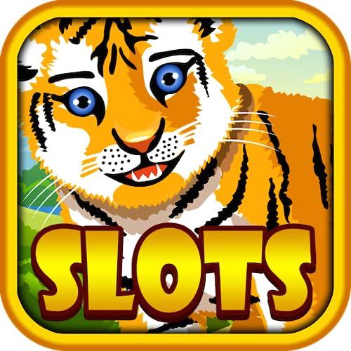 Slots - Wild Tiger Casino Slot Machine! GRATIS Spin Las Vegas e Vinci Jackpot