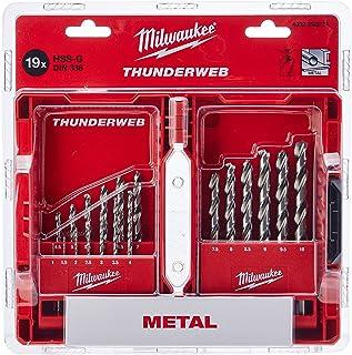 Milwaukee 4932352374 Drill, Set 19 Piece 1-10mm