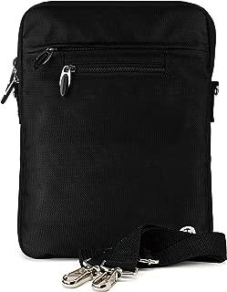 Vangoddy Slim Black Cross Body Tablet Carrying Case Bag for Apple iPad 9.7-inch, iPad Pro, Air 10.5-inch, 11-inch iPad Pro
