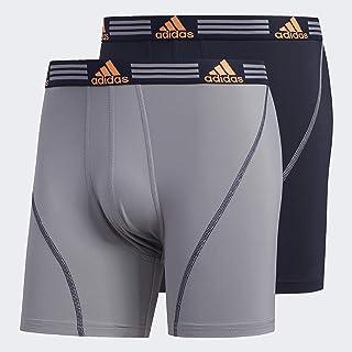 adidas Men's Sport Performance Climalite Long Boxer Briefs (3-pack) Underwear