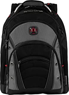 "Wenger 600635 Synergy 16"" Laptop Backpack, Black, Grey, 46 Centimeters"