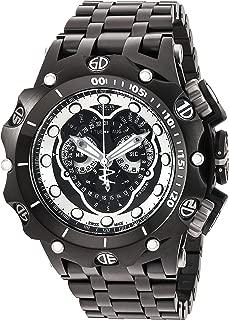 Men's 'Venom' Swiss Quartz Stainless Steel Watch, Color:Black (Model: 20421)