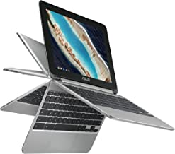 ASUS Chromebook Flip C101PA-DB02 10.1inch Rockchip RK3399 Quad-Core Processor 2.0GHz, 4GB Memory,16GB, All Metal Body,Lightweight, USB Type-C, Google Play Store Ready to run Android apps, Touchscreen