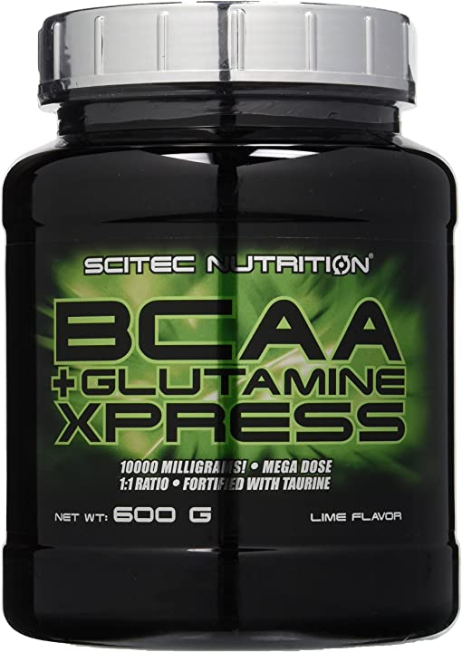 Bcaa+glutamine xpress 600g lime scitec nutrition 111531