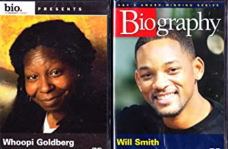 Will Smith Biography , Whoopi Goldberg Biography : 2 Pack Collection