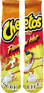 FSP Designs Flamin' Hot Cheetos Custom Performance Crew Socks