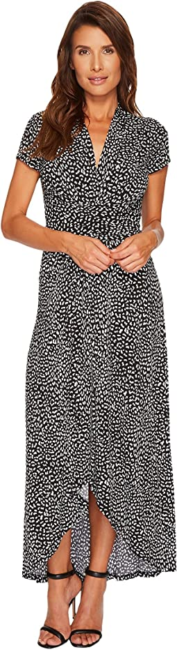 MICHAEL Michael Kors - Cheetah Wrap Dress