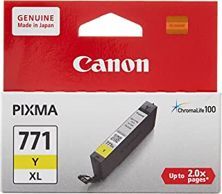 Canon BJ Cartridge CLI-771 Y XL, Yellow