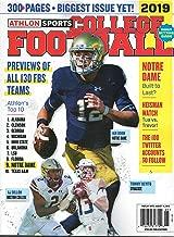 Athlon Sports College Football Volume 25 2019
