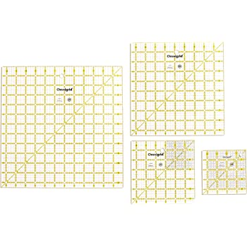 Omnigrid R45125S 12-1/2-Inch Square Value Pack, 4-Count