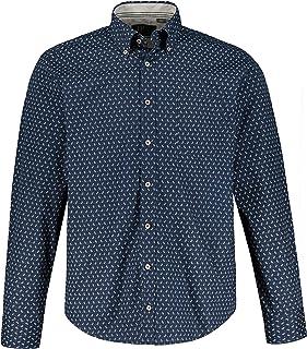 JP 1880 Men's Hemd 1/1 MF, BD, Muster Shirt