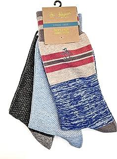Original Penguin Men's 3-Pack Crew Socks, multi, One Size