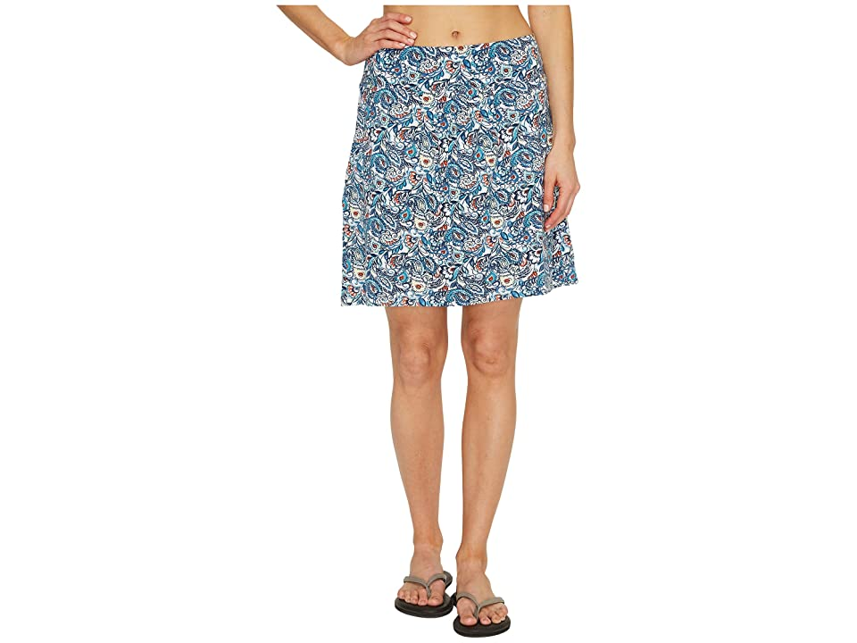 Royal Robbins Essential Tencel(r) Tapestry Pocket Skirt (Reservoir) Women