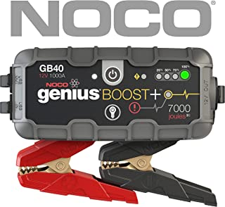 NOCO Boost Plus GB40 1000 Amp 12V UltraSafe Portable Lithium Car Battery Jump Starter Pack for Up to 6L Gasoline and 3L Diesel Engines