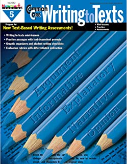 Newmark Learning Grade 5 Common Core Writing to Text Book (CC Writing)