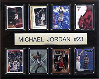 michael jordan card plaque