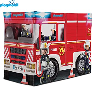 Hauck Playmobil, Large Fire Engine Tent for Children,...