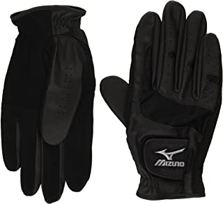 MIZUNO(ミズノ) パークゴルフ 手袋 ゴルフタイプ (両手) [男性モデル] C3JGP60409M ブラック M(23-24cm)