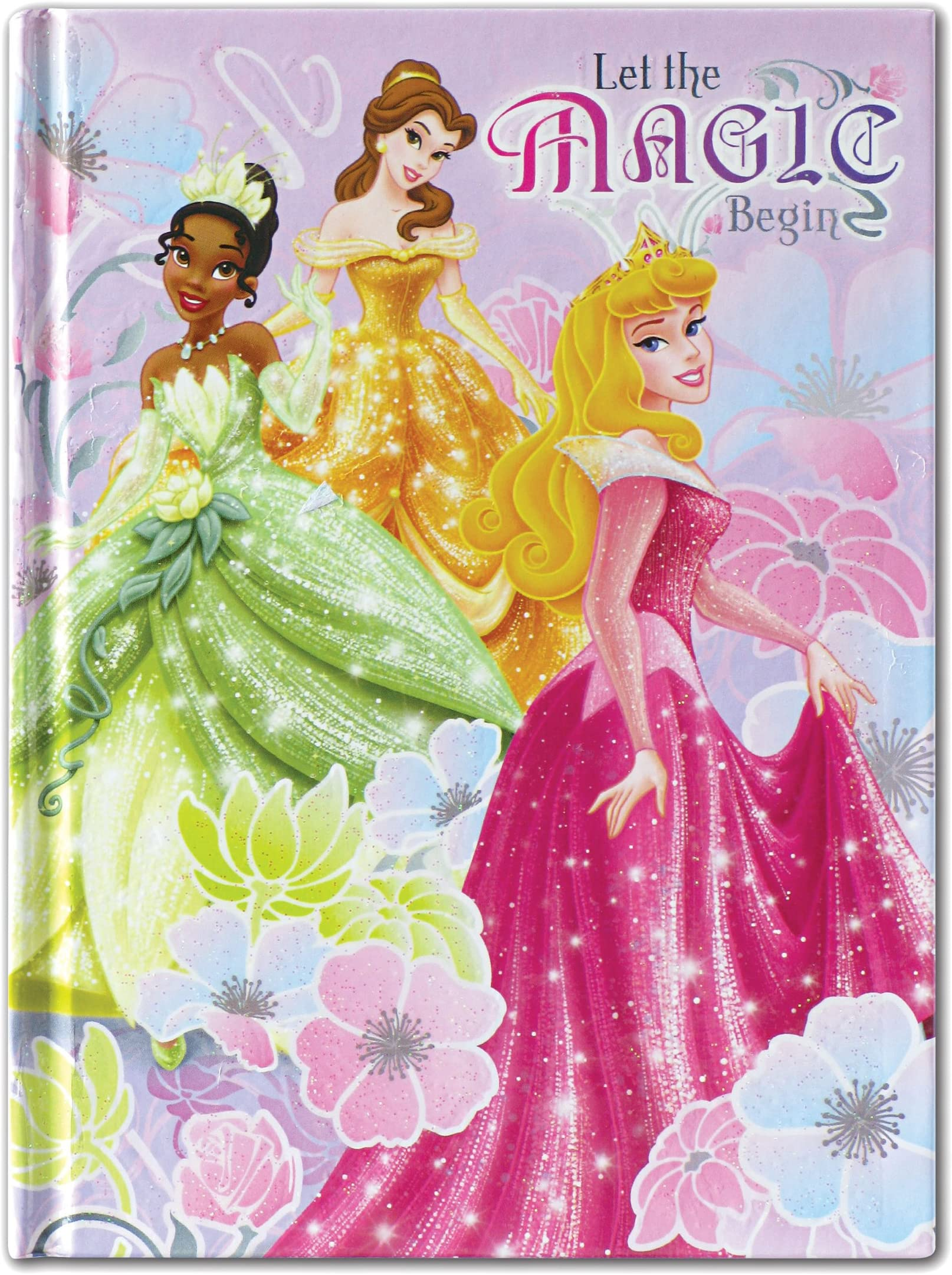 Official Disney Princess Secret Notebook With Pencil /& Lock