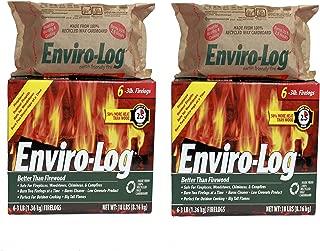 Enviro-Log 6 Pack/3 lb. Firelog Case (2 Pack)