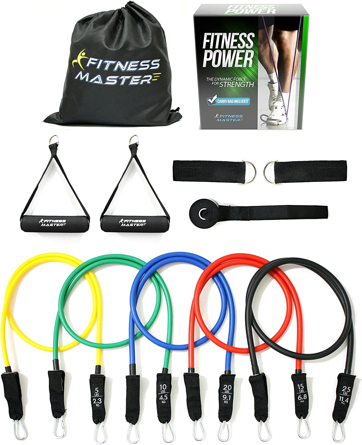 Resistance Bands - Tension Band Weights Exercise Indianapolis Mall Set Fitnes depot for