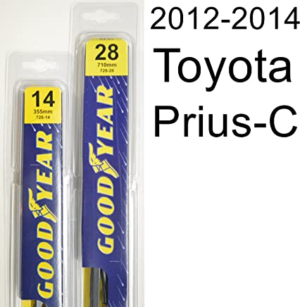 Toyota Prius-C (2012-2014) Wiper Blade Kit - Set Includes 28
