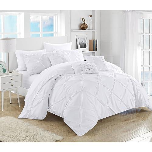 White And Grey Bedding Amazoncom
