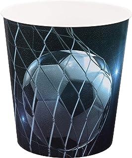 Idena 10488Corbeille à papier en polypropylène, Football