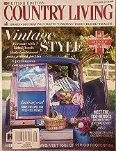 British Edition Country Living UK Magazine September 2019